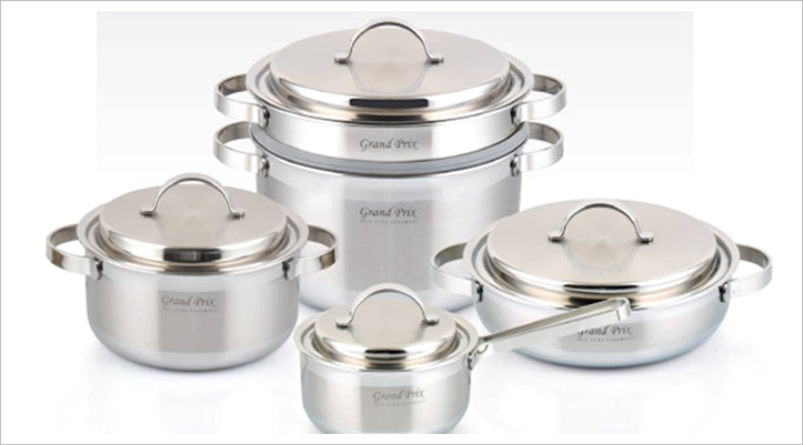 3ply Stainless Steel Pot